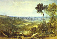 WILLIAM TURNER THE VALE OF ASHBURNHAM ARTIST PAINTING REPRODUCTION HANDMADE OIL