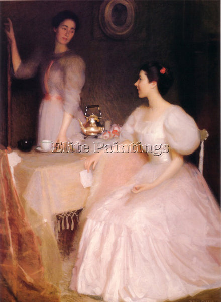 WILLIAM MCGREGOR PAXTON MOLLIE SCOTT AND DOROTHY TAY 1895 ARTIST PAINTING CANVAS