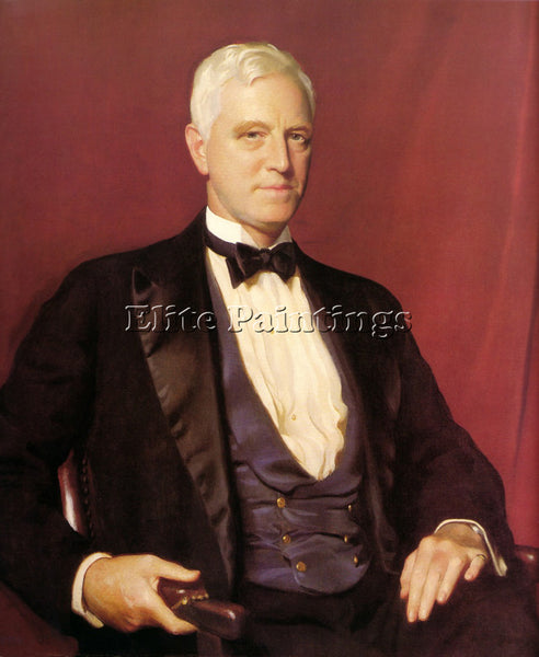 WILLIAM MCGREGOR PAXTON PORTRAIT OF MR CHARLES SINKLER 1928 ARTIST PAINTING OIL