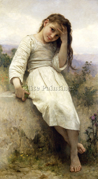 WILLIAM-ADOLPHE BOUGUEREAU THE LITTLE MARAUDER 1900 ARTIST PAINTING REPRODUCTION