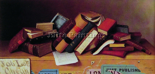 WILLIAM MICHAEL HARNETT JOB LOT CHEAP ARTIST PAINTING REPRODUCTION HANDMADE OIL