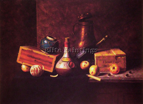 WILLIAM MICHAEL HARNETT STILL LIFE 1884 ARTIST PAINTING REPRODUCTION HANDMADE
