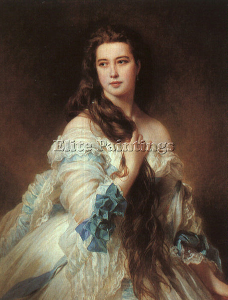 GERMAN WINTERHALTER FRANZ XAVER GERMAN 1805 1873 1 ARTIST PAINTING REPRODUCTION