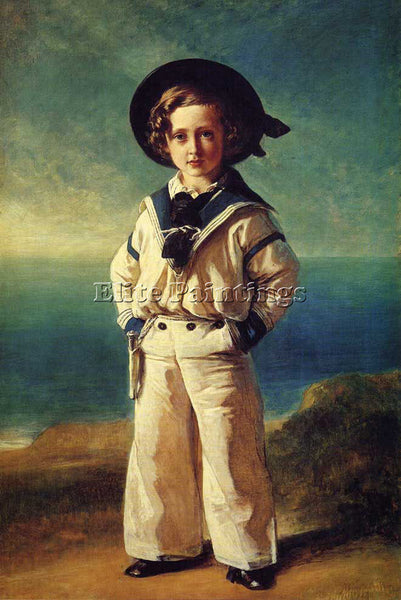 GERMAN WINTERHALTER FRANZ XAVER ALBERT EDWARD PRINCE OF WALES 1846 REPRODUCTION