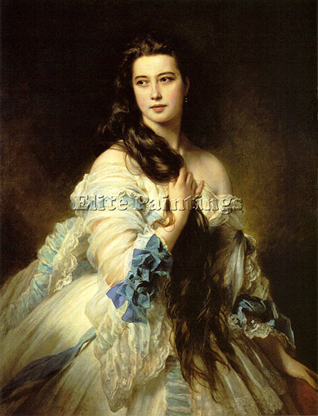 GERMAN WINTERHALTER BARBARA DMITRIEVNA MERGASSOV RIMSKY KORSAKOVA ARTIST CANVAS