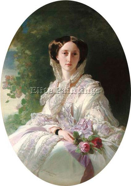 GERMAN WINTERHALTER FRANZ XAVER GRAND DUCHESS OLGA ARTIST PAINTING REPRODUCTION