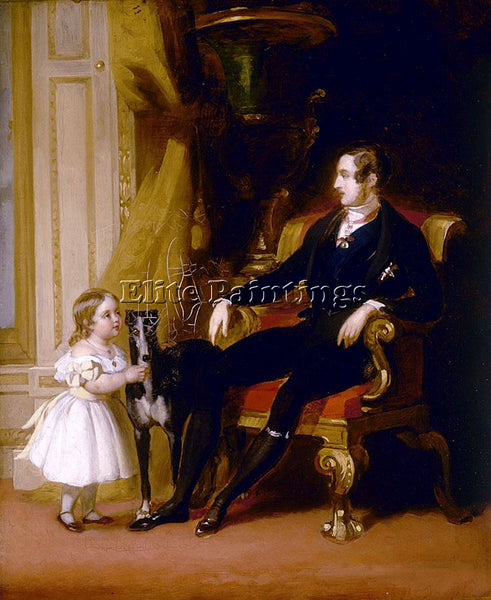 GERMAN WINTERHALTER FRANZ XAVER HIS ROYAL HIGHNESS PRINCE ALBERT ARTIST PAINTING