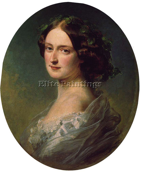 GERMAN WINTERHALTER LADY CLEMENTINA AUGUSTA WELLINGTON CHILD VILLIERS ARTIST OIL