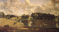 JOHN CONSTABLE WIVENHOE PARK ARTIST PAINTING REPRODUCTION HANDMADE CANVAS REPRO