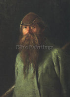 IVAN NIKOLAEVICH KRAMSKOY WOODSMAN ARTIST PAINTING REPRODUCTION HANDMADE OIL ART