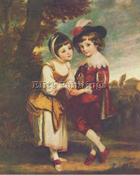 JOSHUA REYNOLDS YOUNG FORTUNE TELLER BGG ARTIST PAINTING REPRODUCTION HANDMADE