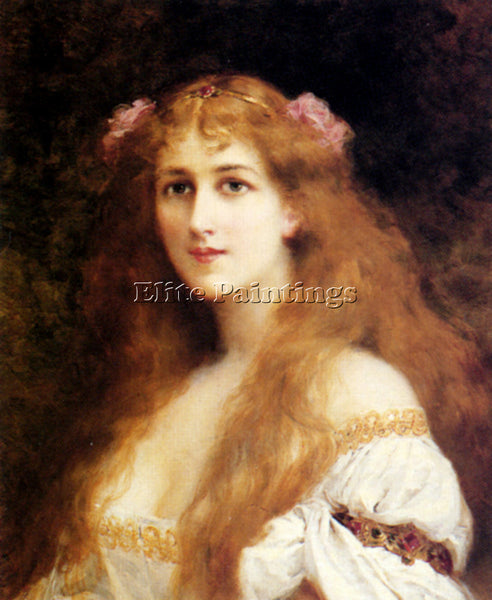 ZIER FRANCIS EDOUARD OPHELIA ARTIST PAINTING REPRODUCTION HANDMADE CANVAS REPRO