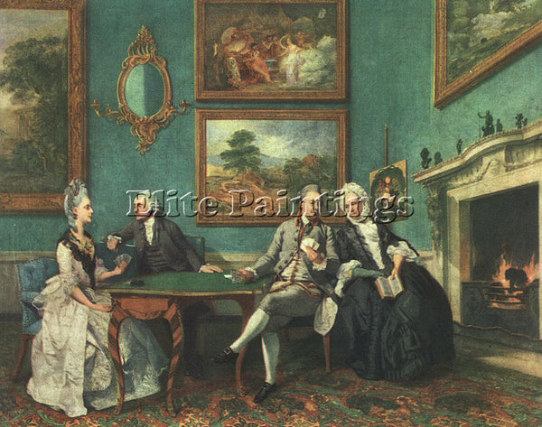 ZOFFANY JEWISH BORN IN FRANKFURT PRACTICED MAINLY IN ENGLAND APPROX 1734 1810