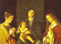 GIOVANNI BELLINI BELLI11 ARTIST PAINTING REPRODUCTION HANDMADE CANVAS REPRO WALL