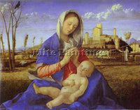 GIOVANNI BELLINI BELLI52 ARTIST PAINTING REPRODUCTION HANDMADE CANVAS REPRO WALL