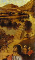 GIOVANNI BELLINI BELLI74 ARTIST PAINTING REPRODUCTION HANDMADE CANVAS REPRO WALL
