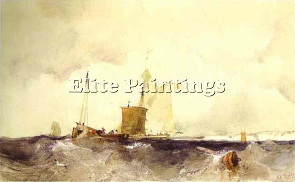 RICHARD PARKES BONINGTON BONI13 ARTIST PAINTING REPRODUCTION HANDMADE OIL CANVAS