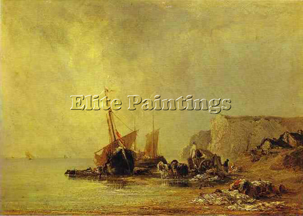 RICHARD PARKES BONINGTON BONI20 ARTIST PAINTING REPRODUCTION HANDMADE OIL CANVAS