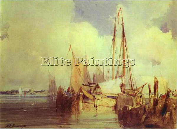 RICHARD PARKES BONINGTON BONI21 ARTIST PAINTING REPRODUCTION HANDMADE OIL CANVAS