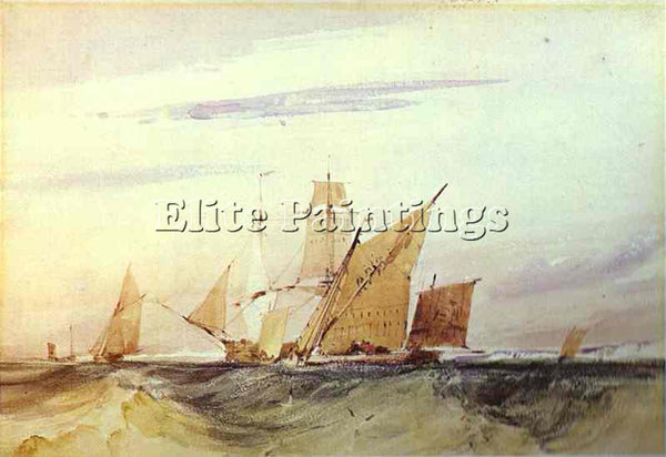 RICHARD PARKES BONINGTON BONI22 ARTIST PAINTING REPRODUCTION HANDMADE OIL CANVAS