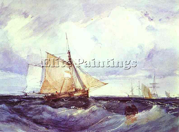 RICHARD PARKES BONINGTON BONI27 ARTIST PAINTING REPRODUCTION HANDMADE OIL CANVAS