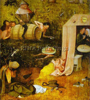 HIERONYMUS BOSCH BOSCH9 ARTIST PAINTING REPRODUCTION HANDMADE CANVAS REPRO WALL