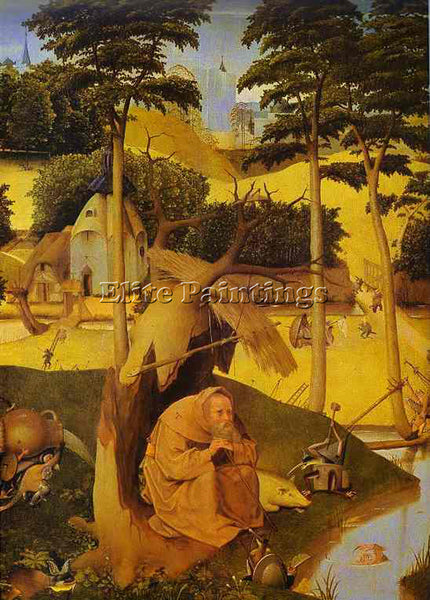 HIERONYMUS BOSCH BOSCH55 ARTIST PAINTING REPRODUCTION HANDMADE CANVAS REPRO WALL