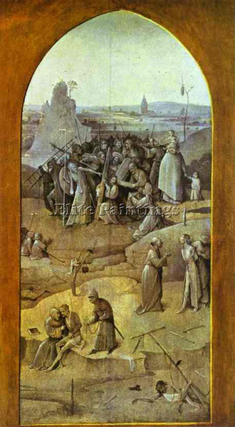 HIERONYMUS BOSCH BOSCH56 ARTIST PAINTING REPRODUCTION HANDMADE CANVAS REPRO WALL