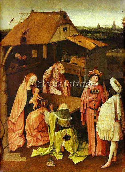 HIERONYMUS BOSCH BOSCH57 ARTIST PAINTING REPRODUCTION HANDMADE CANVAS REPRO WALL