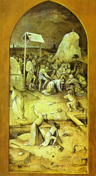 HIERONYMUS BOSCH BOSCH58 ARTIST PAINTING REPRODUCTION HANDMADE CANVAS REPRO WALL