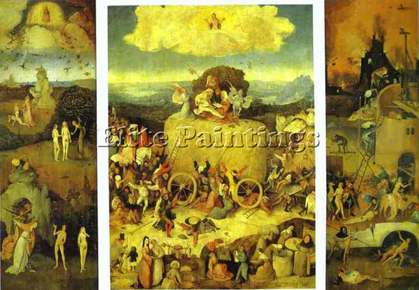 HIERONYMUS BOSCH BOSCH62 ARTIST PAINTING REPRODUCTION HANDMADE CANVAS REPRO WALL