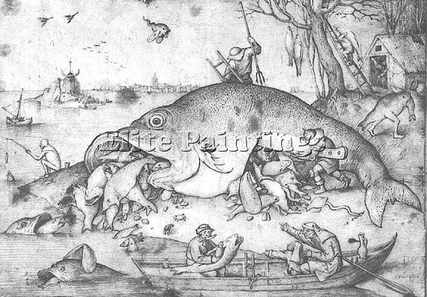 PIETER BRUEGEL THE ELDER BRUEG3 ARTIST PAINTING REPRODUCTION HANDMADE OIL CANVAS