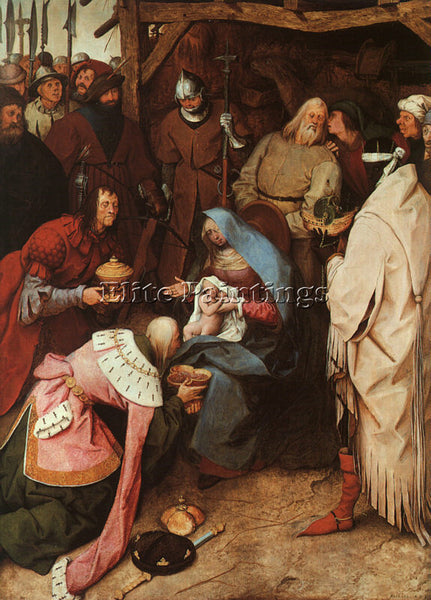 PIETER BRUEGEL THE ELDER BRUEG5 ARTIST PAINTING REPRODUCTION HANDMADE OIL CANVAS