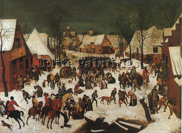 PIETER BRUEGEL THE ELDER BRUEG6 ARTIST PAINTING REPRODUCTION HANDMADE OIL CANVAS