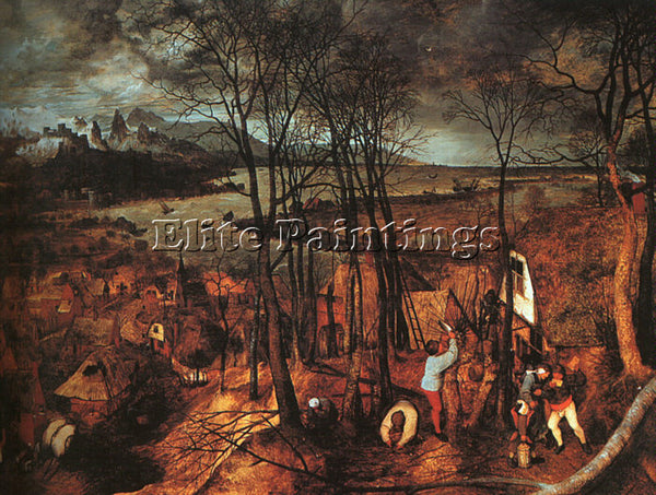 PIETER BRUEGEL THE ELDER BRUEG7 ARTIST PAINTING REPRODUCTION HANDMADE OIL CANVAS