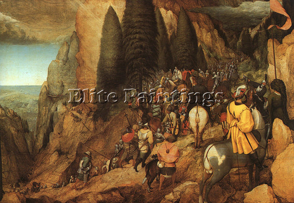 PIETER BRUEGEL THE ELDER BRUEG9 ARTIST PAINTING REPRODUCTION HANDMADE OIL CANVAS