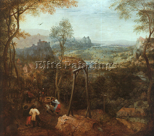 PIETER BRUEGEL THE ELDER BRUEG11 ARTIST PAINTING REPRODUCTION HANDMADE OIL REPRO