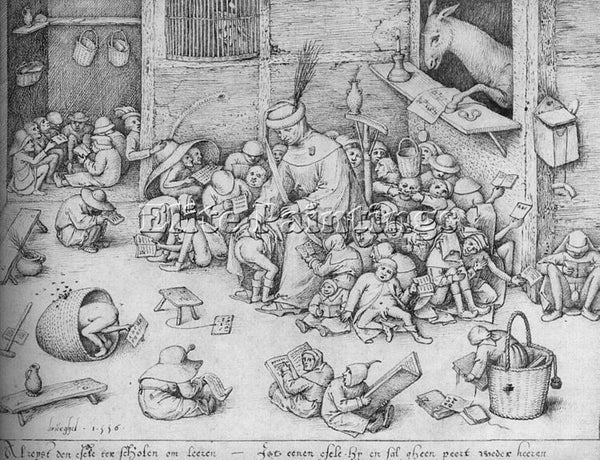 PIETER BRUEGEL THE ELDER BRUEG12 ARTIST PAINTING REPRODUCTION HANDMADE OIL REPRO