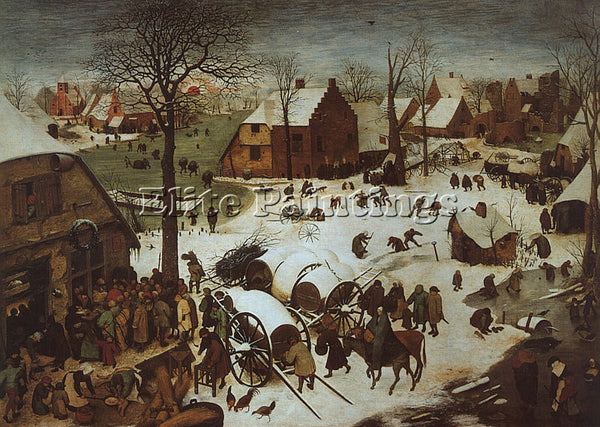 PIETER BRUEGEL THE ELDER BRUEG13 ARTIST PAINTING REPRODUCTION HANDMADE OIL REPRO