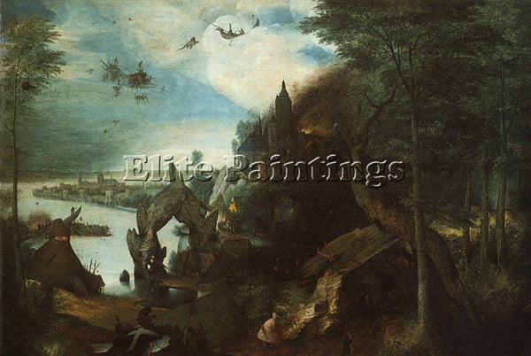PIETER BRUEGEL THE ELDER BRUEG19 ARTIST PAINTING REPRODUCTION HANDMADE OIL REPRO