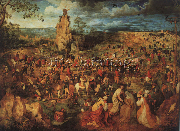PIETER BRUEGEL THE ELDER BRUEG23 ARTIST PAINTING REPRODUCTION HANDMADE OIL REPRO