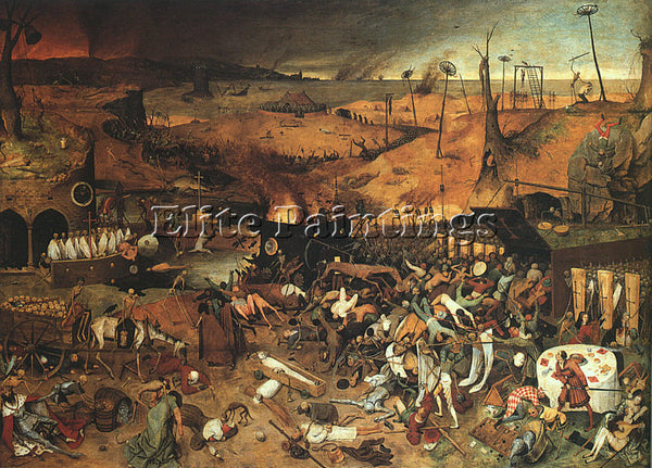 PIETER BRUEGEL THE ELDER BRUEG24 ARTIST PAINTING REPRODUCTION HANDMADE OIL REPRO