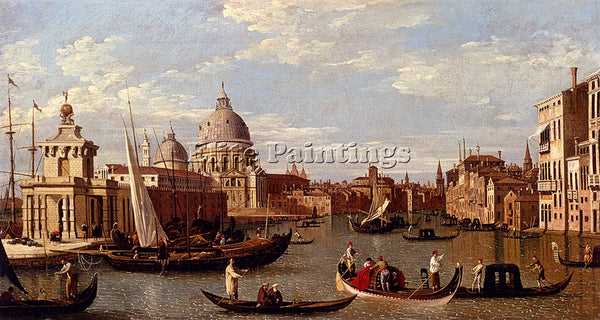 CANALETTO  VENICE ARTIST PAINTING REPRODUCTION HANDMADE CANVAS REPRO WALL DECO