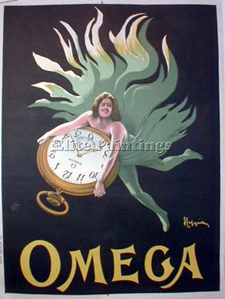 LEONETTO CAPPIELLO CAP OMEGA ARTIST PAINTING REPRODUCTION HANDMADE CANVAS REPRO