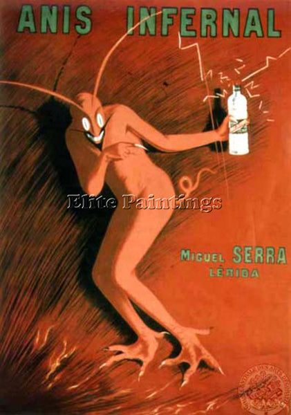 LEONETTO CAPPIELLO CAPP7 ARTIST PAINTING REPRODUCTION HANDMADE CANVAS REPRO WALL