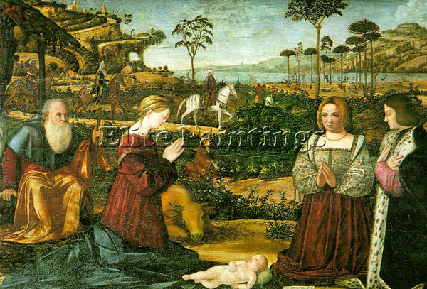 VITTORE CARPACCIO CARP2 ARTIST PAINTING REPRODUCTION HANDMADE CANVAS REPRO WALL