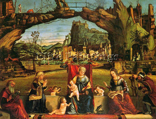VITTORE CARPACCIO CARP3 ARTIST PAINTING REPRODUCTION HANDMADE CANVAS REPRO WALL