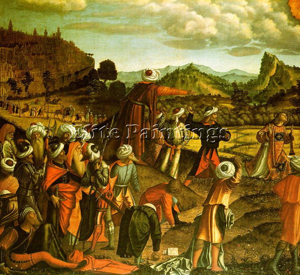 VITTORE CARPACCIO CARP9 ARTIST PAINTING REPRODUCTION HANDMADE CANVAS REPRO WALL