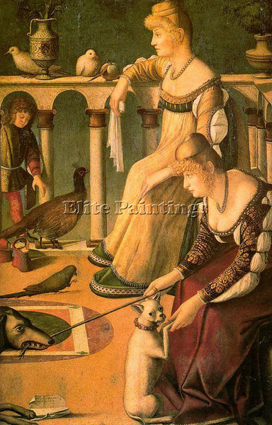 VITTORE CARPACCIO CARP19 ARTIST PAINTING REPRODUCTION HANDMADE CANVAS REPRO WALL