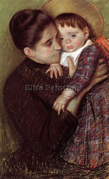 MARY CASSATT CASS53 ARTIST PAINTING REPRODUCTION HANDMADE CANVAS REPRO WALL DECO
